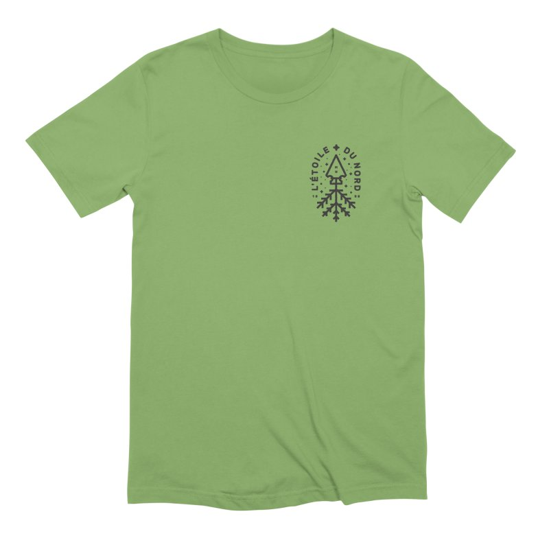 The Star of the North Men's Extra Soft T-Shirt by Joshua Gille's Artist Shop