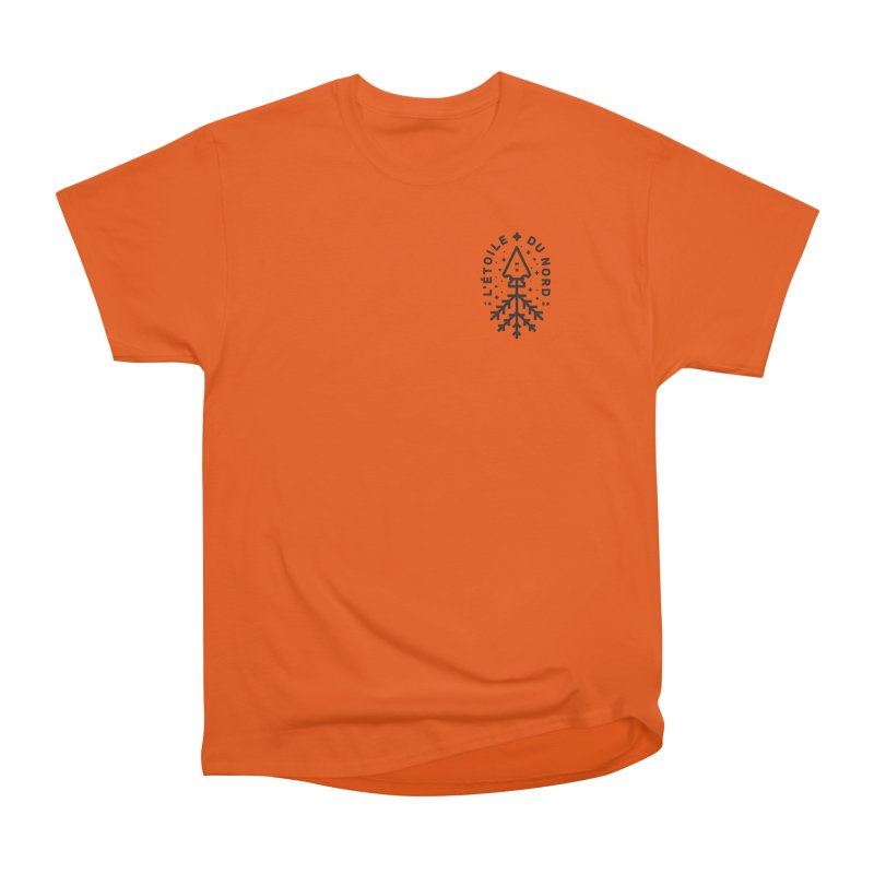 The Star of the North Men's Heavyweight T-Shirt by Joshua Gille's Artist Shop