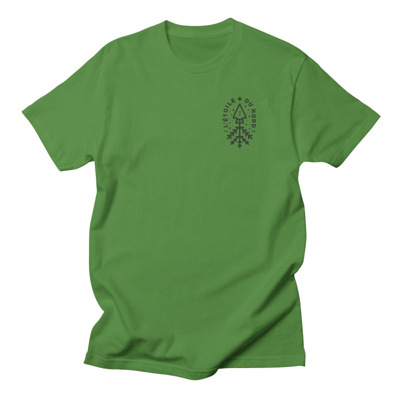 The Star of the North Men's Regular T-Shirt by Joshua Gille's Artist Shop