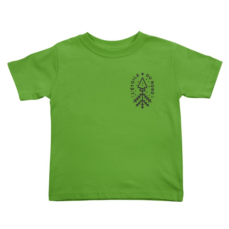 The Star of the North Kids Toddler T-Shirt by Joshua Gille's Artist Shop