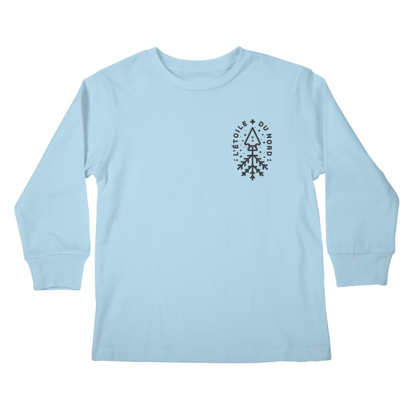 The Star of the North Kids Longsleeve T-Shirt by Joshua Gille's Artist Shop