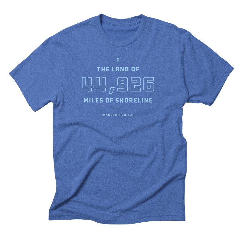 Land of Shoreline Men's T-Shirt by Joshua Gille's Artist Shop