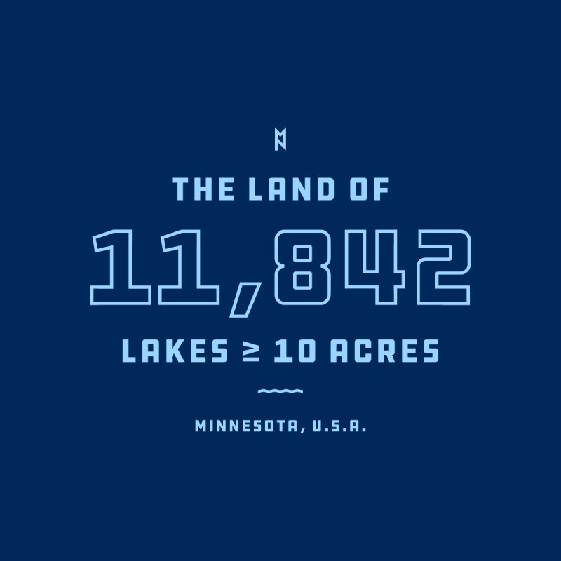 Land of Lakes Men's T-Shirt by Joshua Gille's Artist Shop