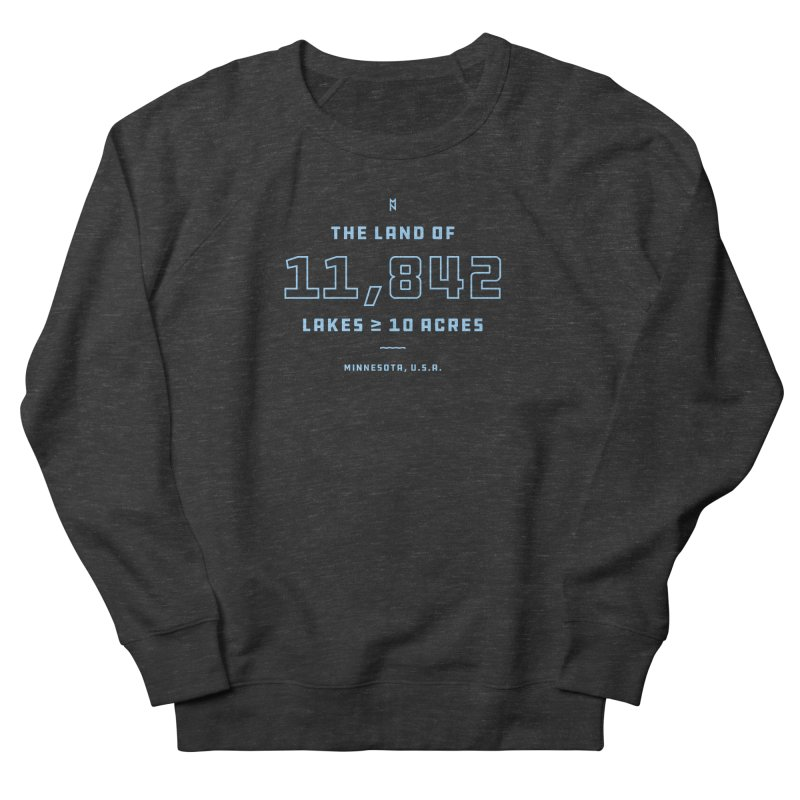 Land of Lakes Women's French Terry Sweatshirt by Joshua Gille's Artist Shop