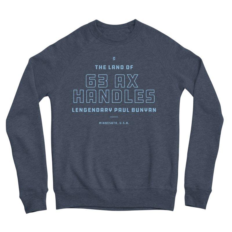 Land of 63 Ax Handles Men's Sponge Fleece Sweatshirt by Joshua Gille's Artist Shop