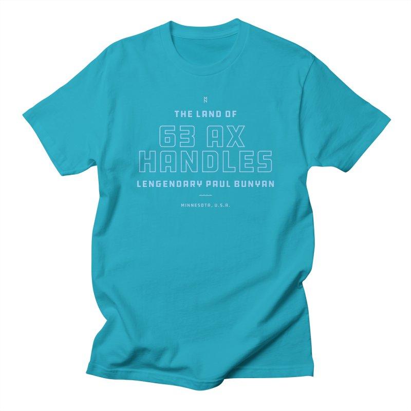 Land of 63 Ax Handles Men's T-Shirt by Joshua Gille's Artist Shop