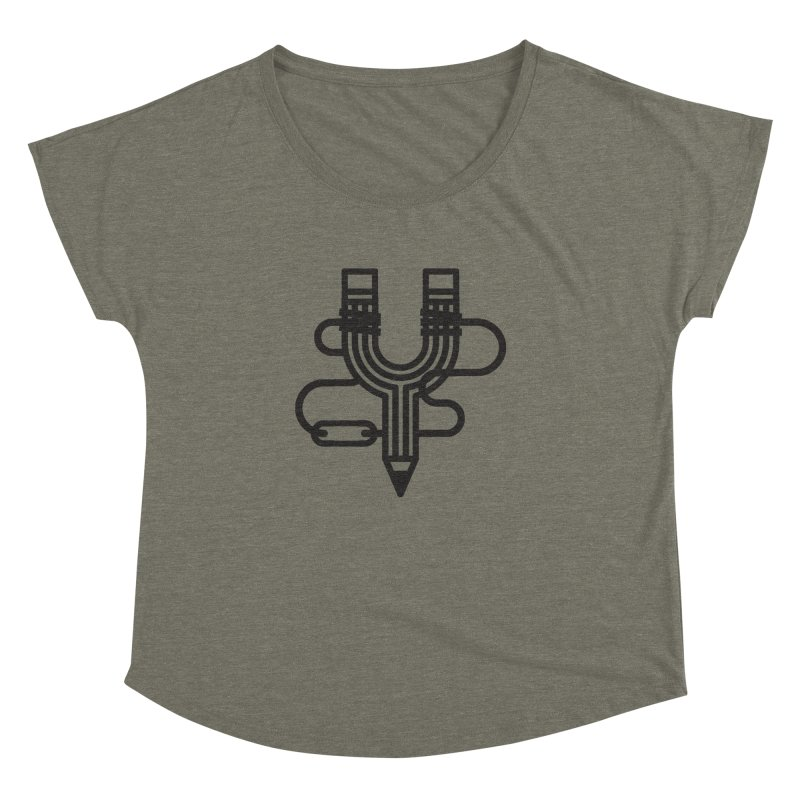 The Marksmen Women's Dolman Scoop Neck by Joshua Gille's Artist Shop
