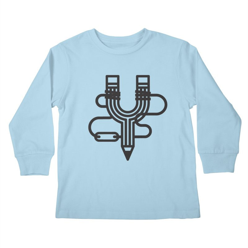 The Marksmen Kids Longsleeve T-Shirt by Joshua Gille's Artist Shop
