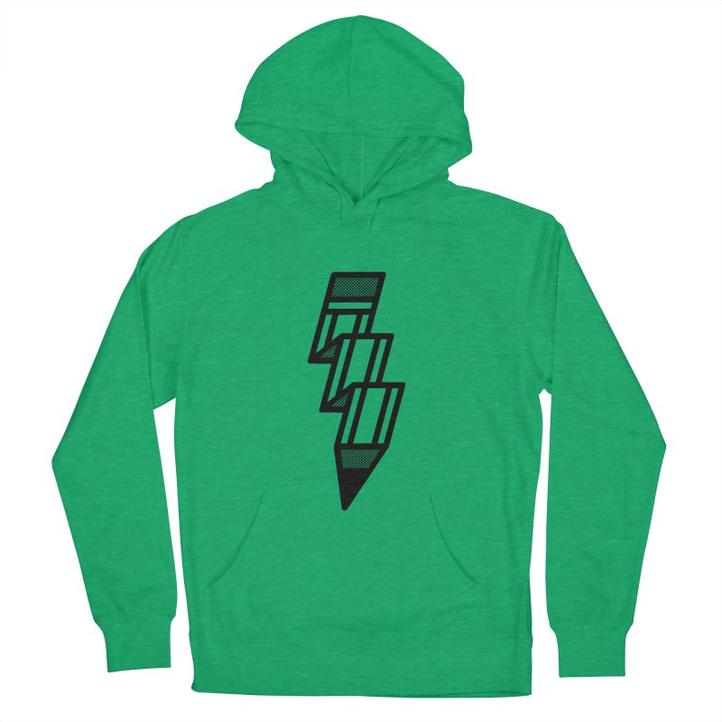 Creative Flash Women's French Terry Pullover Hoody by Joshua Gille's Artist Shop
