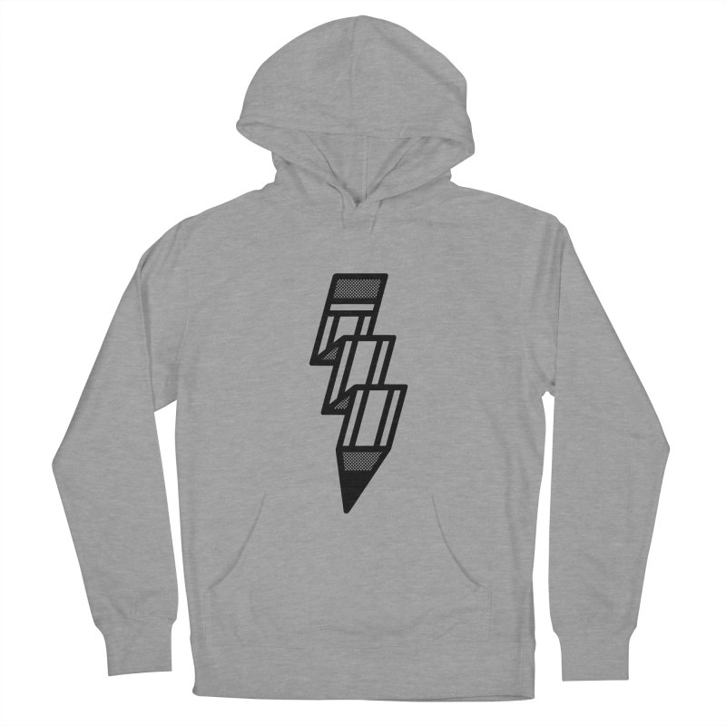Creative Flash Men's French Terry Pullover Hoody by Joshua Gille's Artist Shop