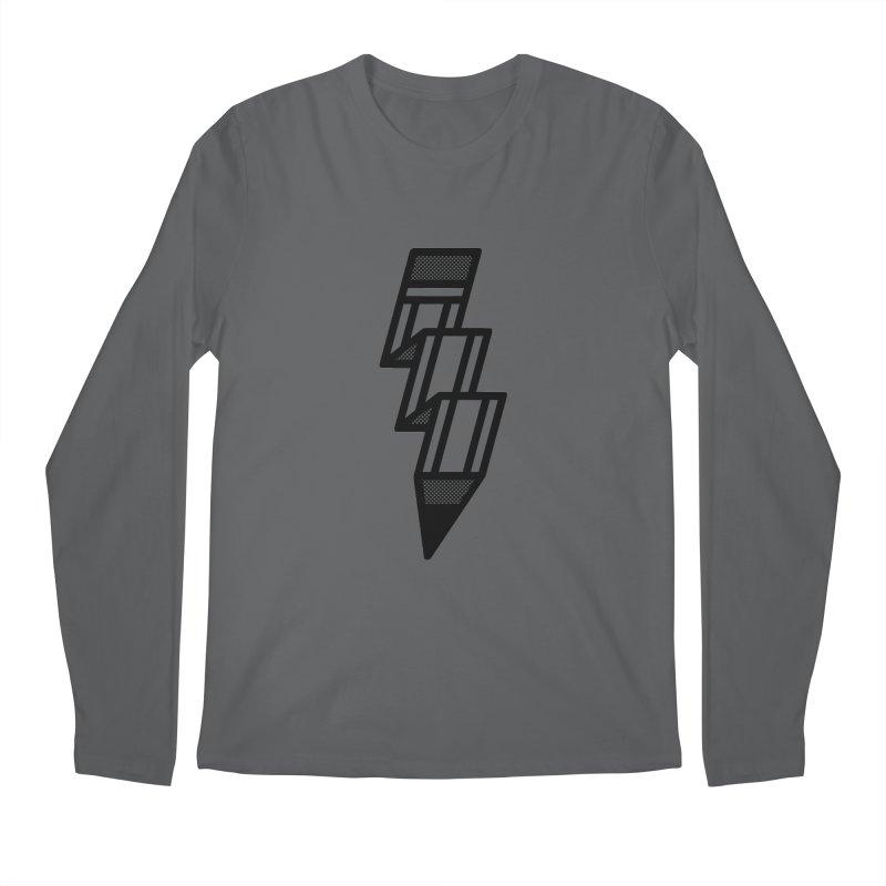 Creative Flash Men's Regular Longsleeve T-Shirt by Joshua Gille's Artist Shop