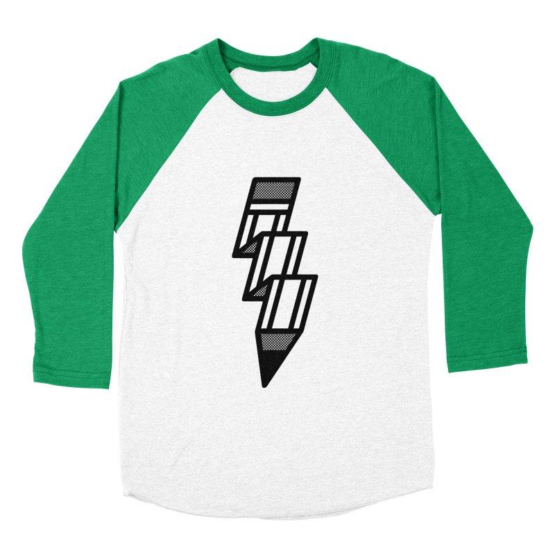 Creative Flash Women's Baseball Triblend Longsleeve T-Shirt by Joshua Gille's Artist Shop