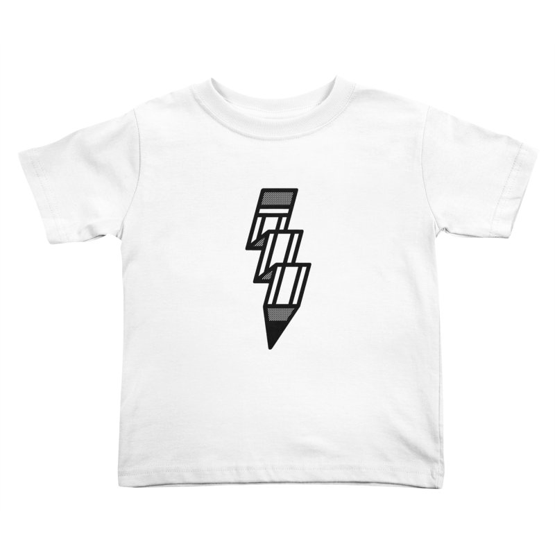 Creative Flash Kids Toddler T-Shirt by Joshua Gille's Artist Shop