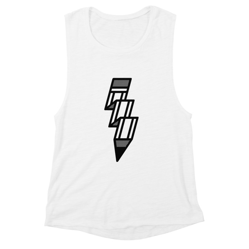 Creative Flash Women's Muscle Tank by Joshua Gille's Artist Shop