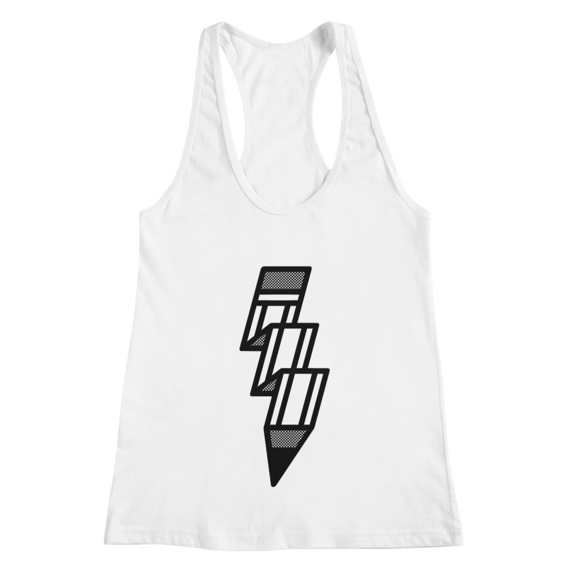 Creative Flash Women's Racerback Tank by Joshua Gille's Artist Shop