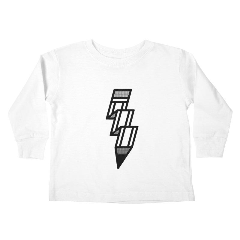 Creative Flash Kids Toddler Longsleeve T-Shirt by Joshua Gille's Artist Shop