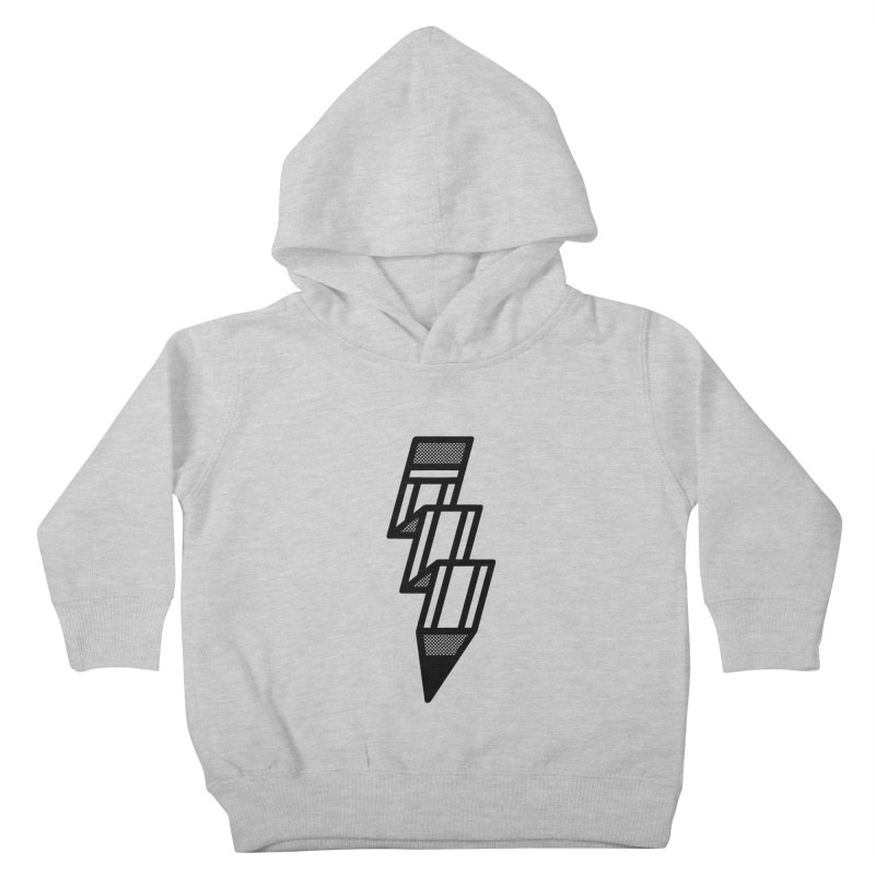 Creative Flash Kids Toddler Pullover Hoody by Joshua Gille's Artist Shop
