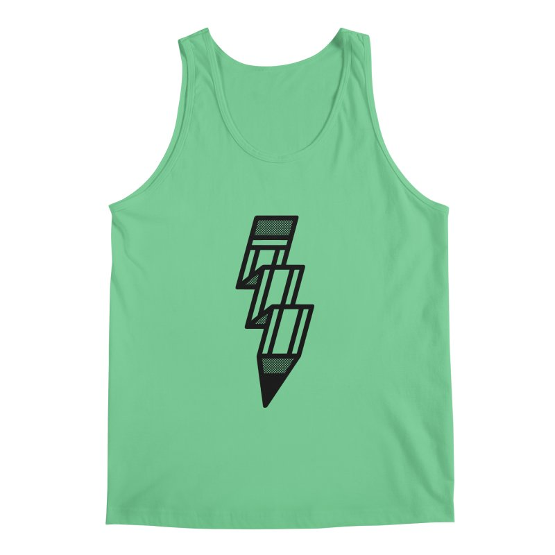 Creative Flash Men's Regular Tank by Joshua Gille's Artist Shop