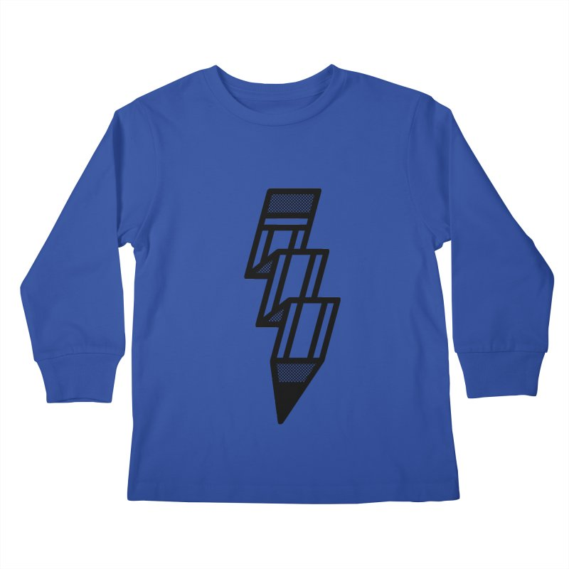 Creative Flash Kids Longsleeve T-Shirt by Joshua Gille's Artist Shop