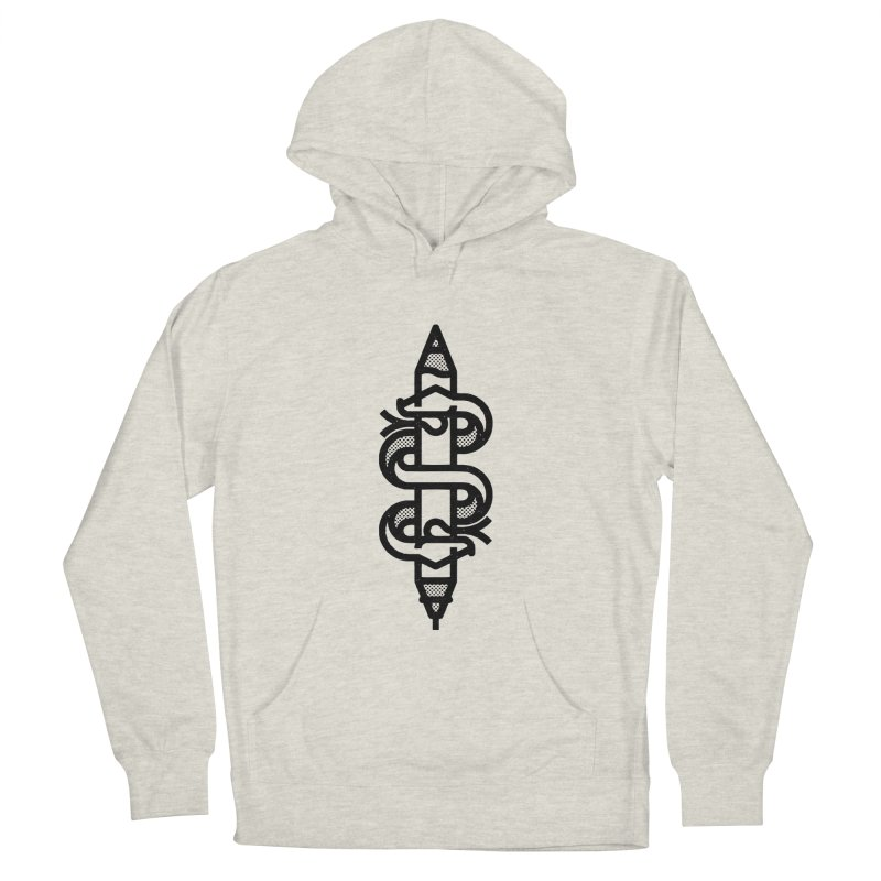 Digital Analog Men's French Terry Pullover Hoody by Joshua Gille's Artist Shop