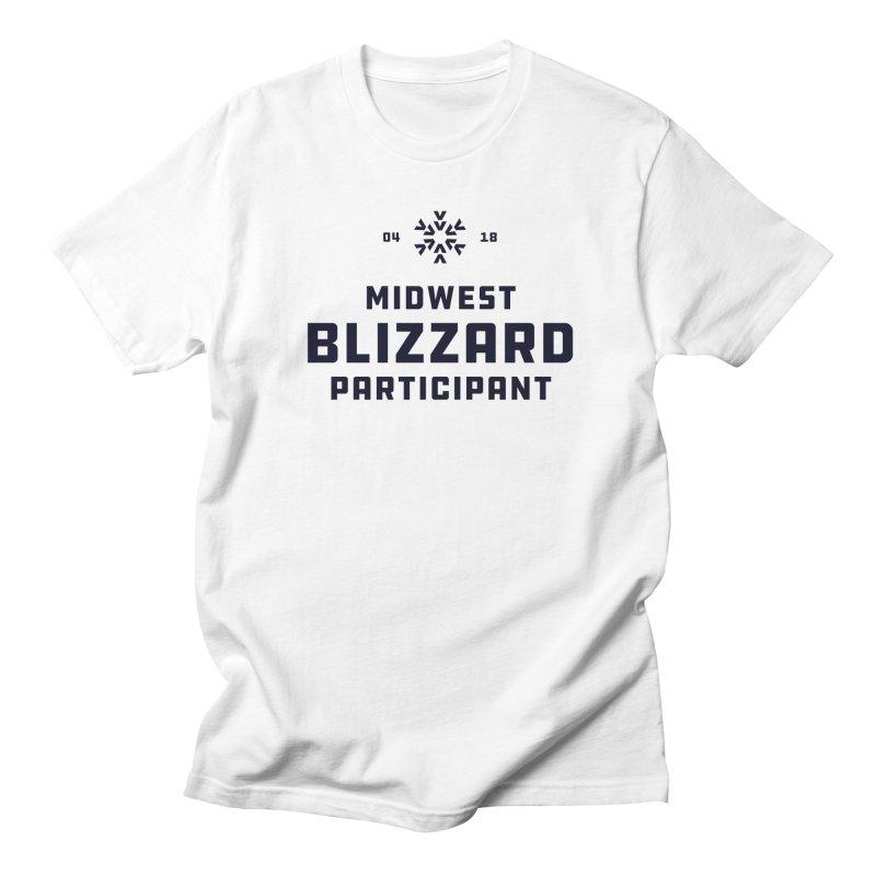 Midwest Blizzard Participant Men's Regular T-Shirt by Joshua Gille's Artist Shop