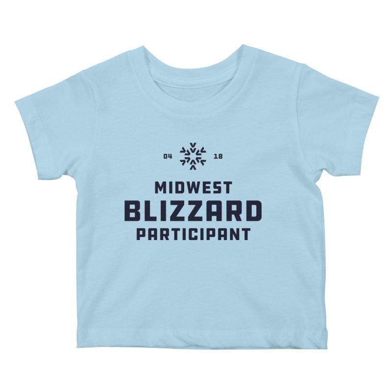 Midwest Blizzard Participant Kids Baby T-Shirt by Joshua Gille's Artist Shop