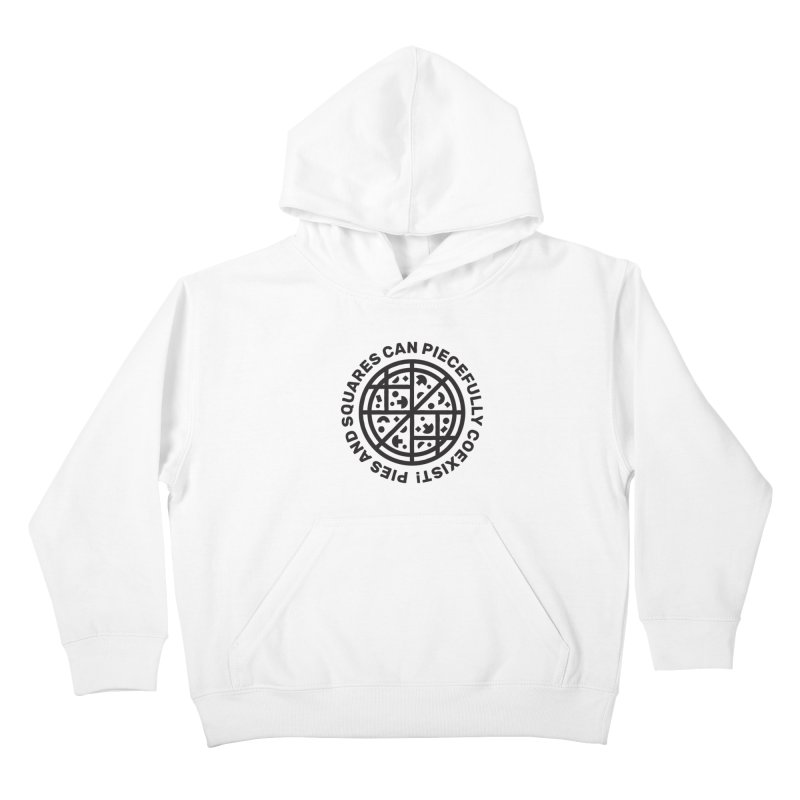 Piecefully Coexist Kids Pullover Hoody by Joshua Gille's Artist Shop