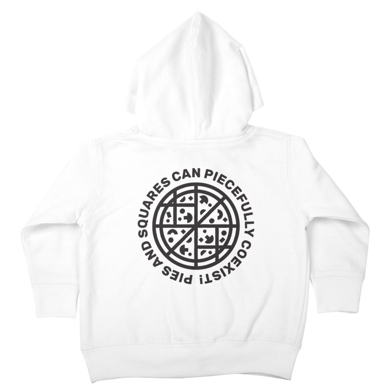 Piecefully Coexist Kids Toddler Zip-Up Hoody by Joshua Gille's Artist Shop