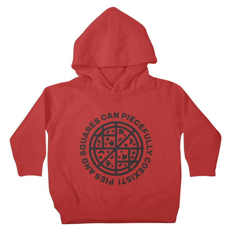 Piecefully Coexist Kids Toddler Pullover Hoody by Joshua Gille's Artist Shop