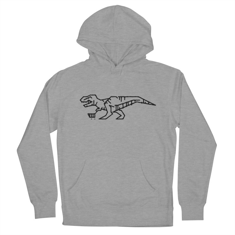 Meat Department Men's French Terry Pullover Hoody by Joshua Gille's Artist Shop
