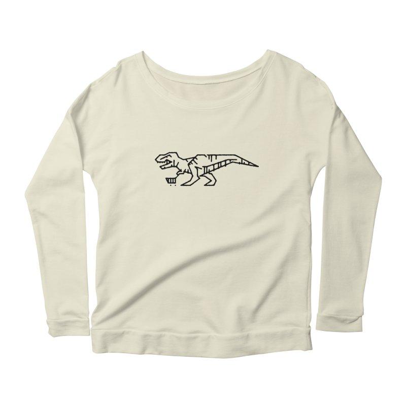 Meat Department Women's Scoop Neck Longsleeve T-Shirt by Joshua Gille's Artist Shop