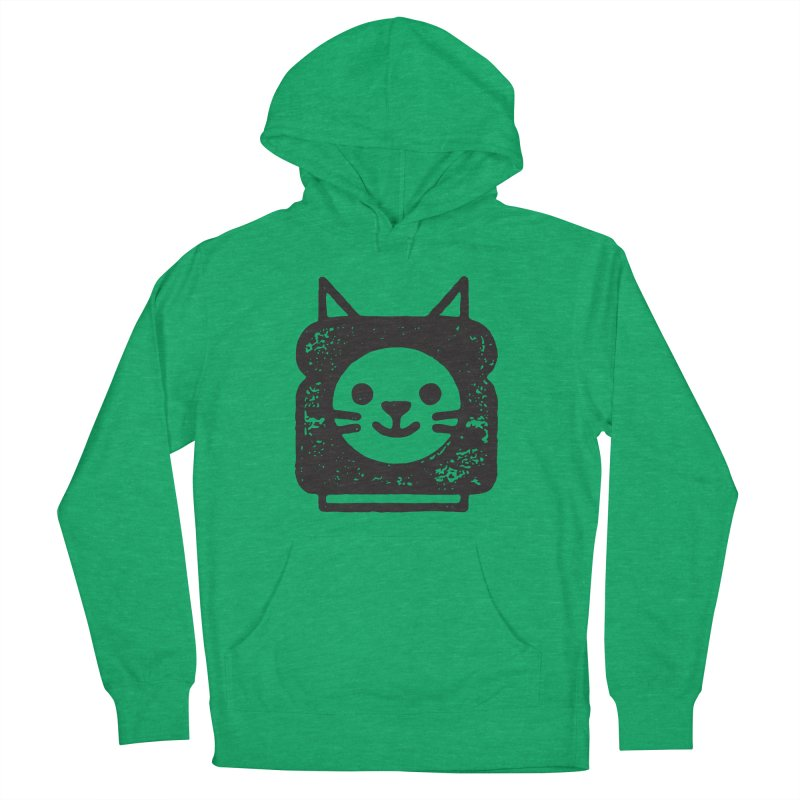 Cat In Bread Women's French Terry Pullover Hoody by Joshua Gille's Artist Shop