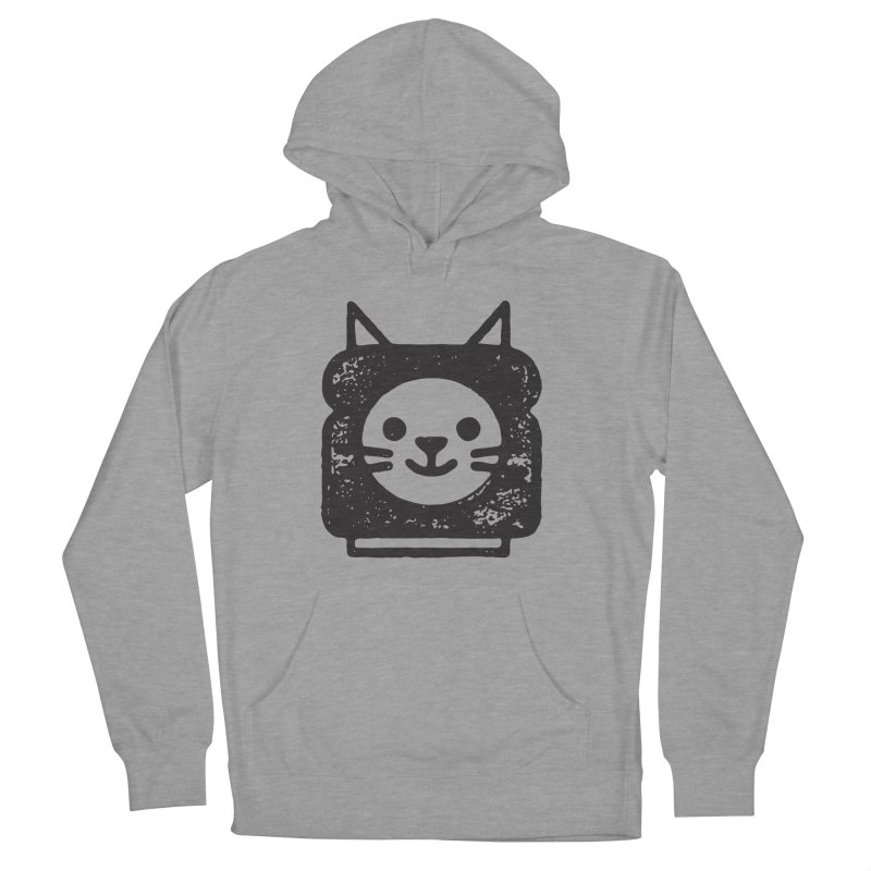 Cat In Bread Men's French Terry Pullover Hoody by Joshua Gille's Artist Shop