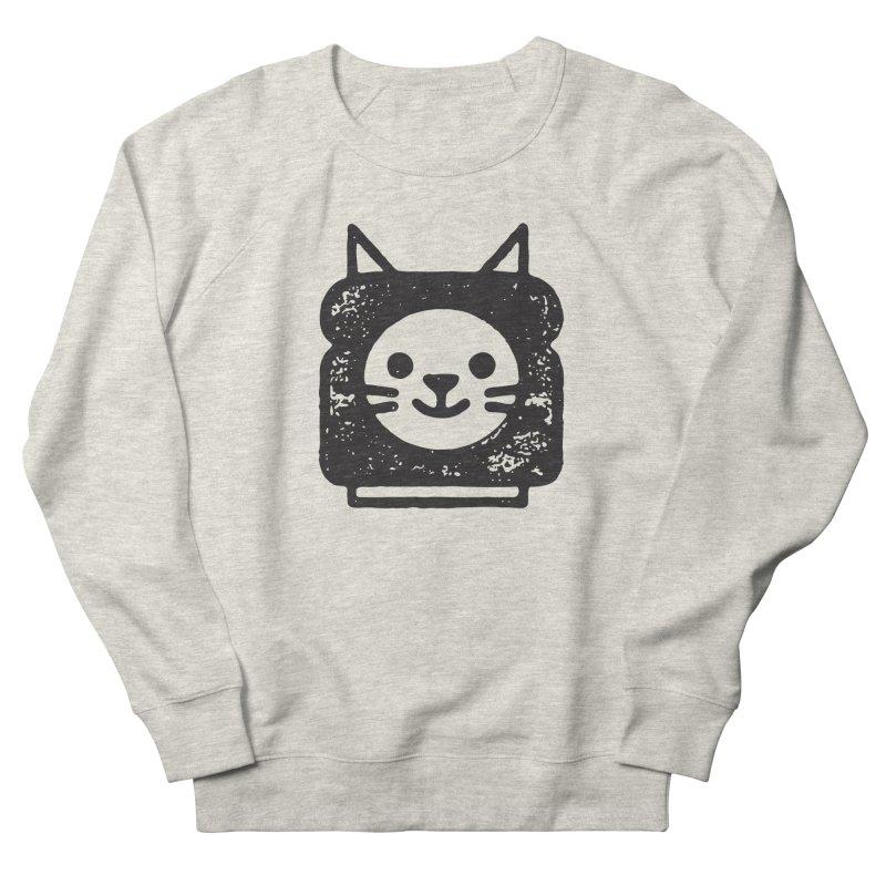 Cat In Bread Women's French Terry Sweatshirt by Joshua Gille's Artist Shop