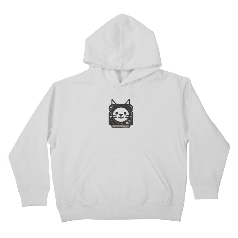 Cat In Bread Kids Pullover Hoody by Joshua Gille's Artist Shop