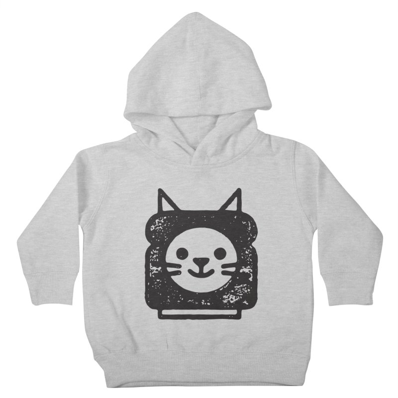 Cat In Bread Kids Toddler Pullover Hoody by Joshua Gille's Artist Shop