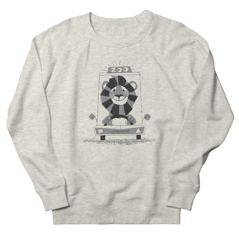 Zoo Taxi Women's French Terry Sweatshirt by Joshua Gille's Artist Shop