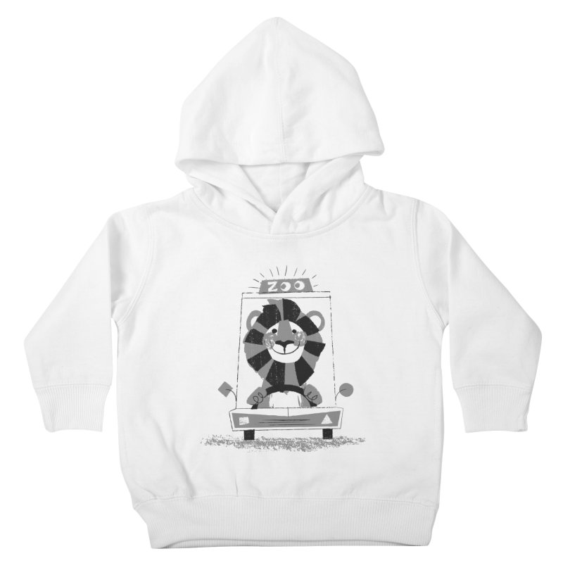 Zoo Taxi Kids Toddler Pullover Hoody by Joshua Gille's Artist Shop