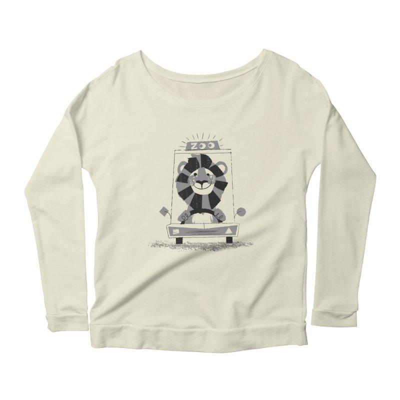 Zoo Taxi Women's Scoop Neck Longsleeve T-Shirt by Joshua Gille's Artist Shop