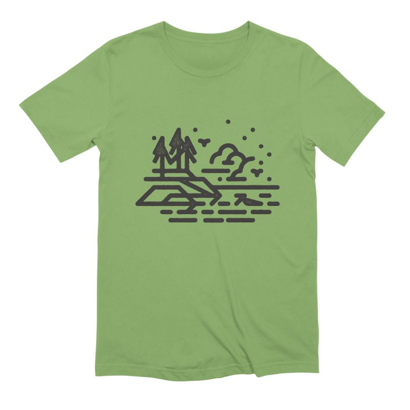 North Shore Men's Extra Soft T-Shirt by Joshua Gille's Artist Shop