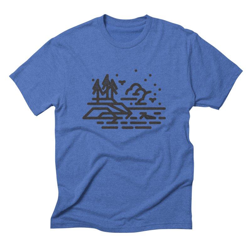 North Shore Men's T-Shirt by Joshua Gille's Artist Shop
