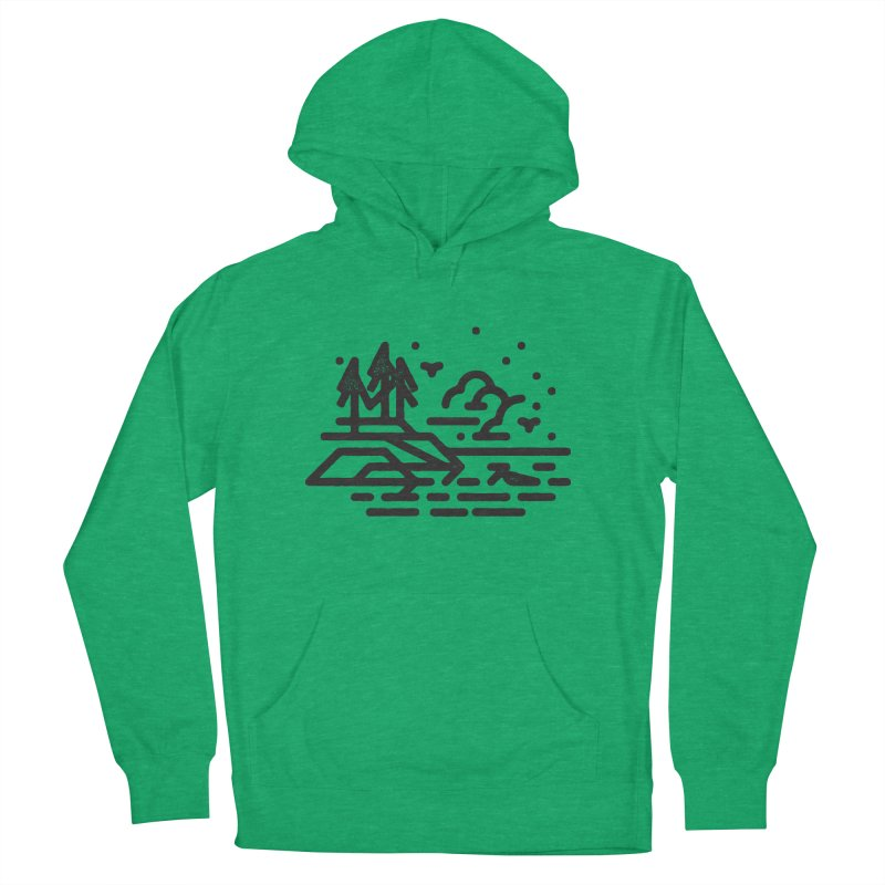 North Shore Women's French Terry Pullover Hoody by Joshua Gille's Artist Shop