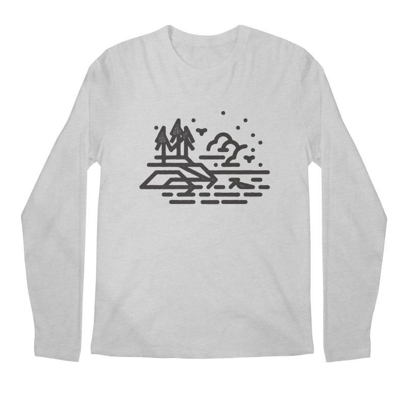 North Shore Men's Regular Longsleeve T-Shirt by Joshua Gille's Artist Shop