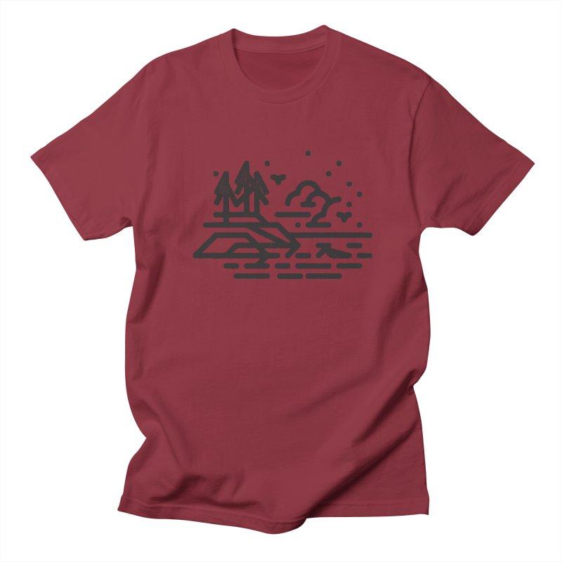 North Shore Men's Regular T-Shirt by Joshua Gille's Artist Shop