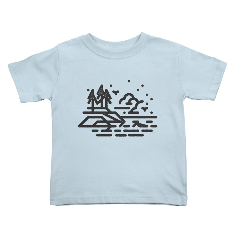 North Shore Kids Toddler T-Shirt by Joshua Gille's Artist Shop