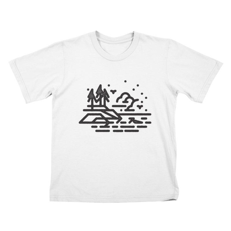 North Shore Kids T-Shirt by Joshua Gille's Artist Shop