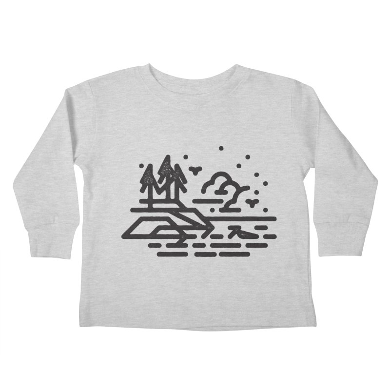 North Shore Kids Toddler Longsleeve T-Shirt by Joshua Gille's Artist Shop