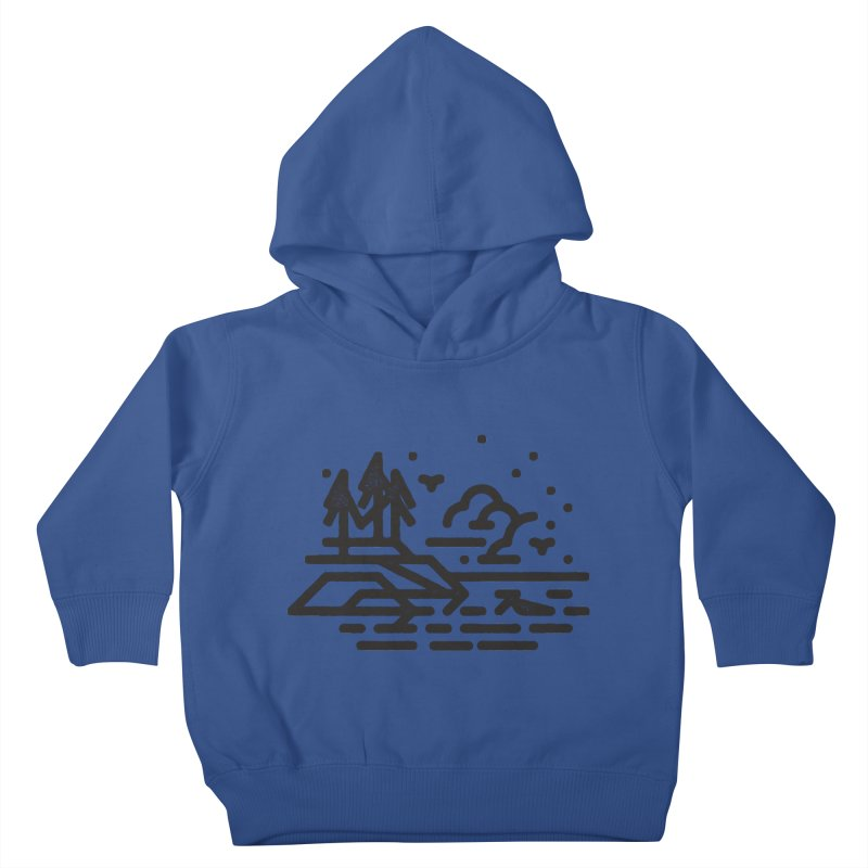 North Shore Kids Toddler Pullover Hoody by Joshua Gille's Artist Shop