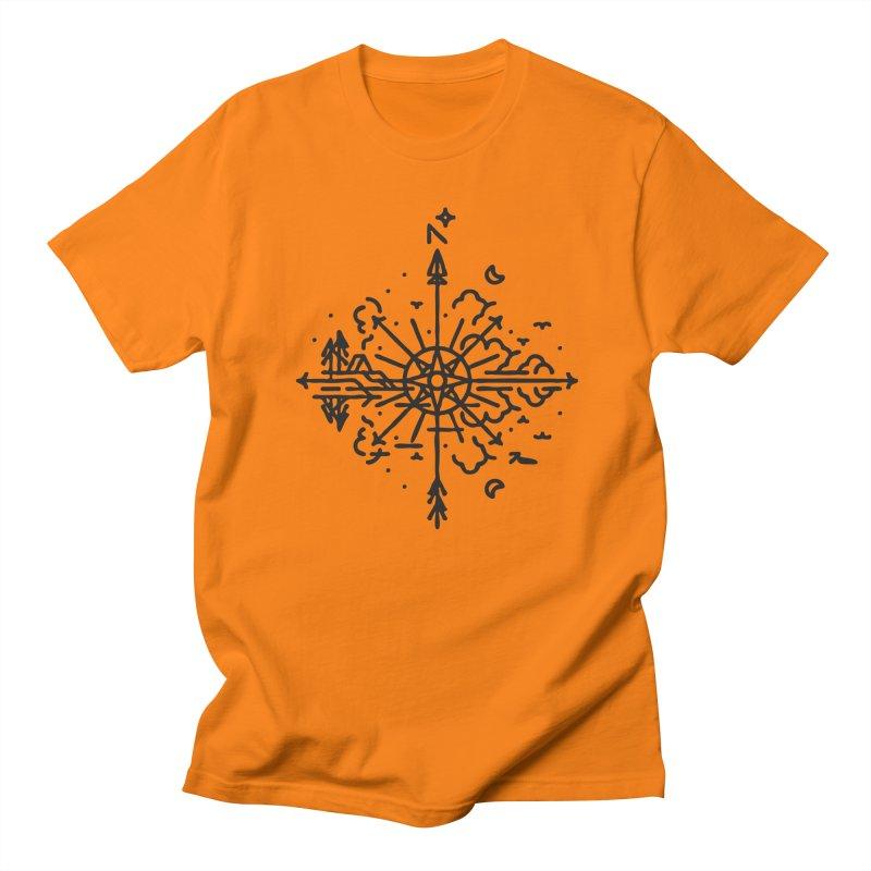 Outdoors Men's Regular T-Shirt by Joshua Gille's Artist Shop