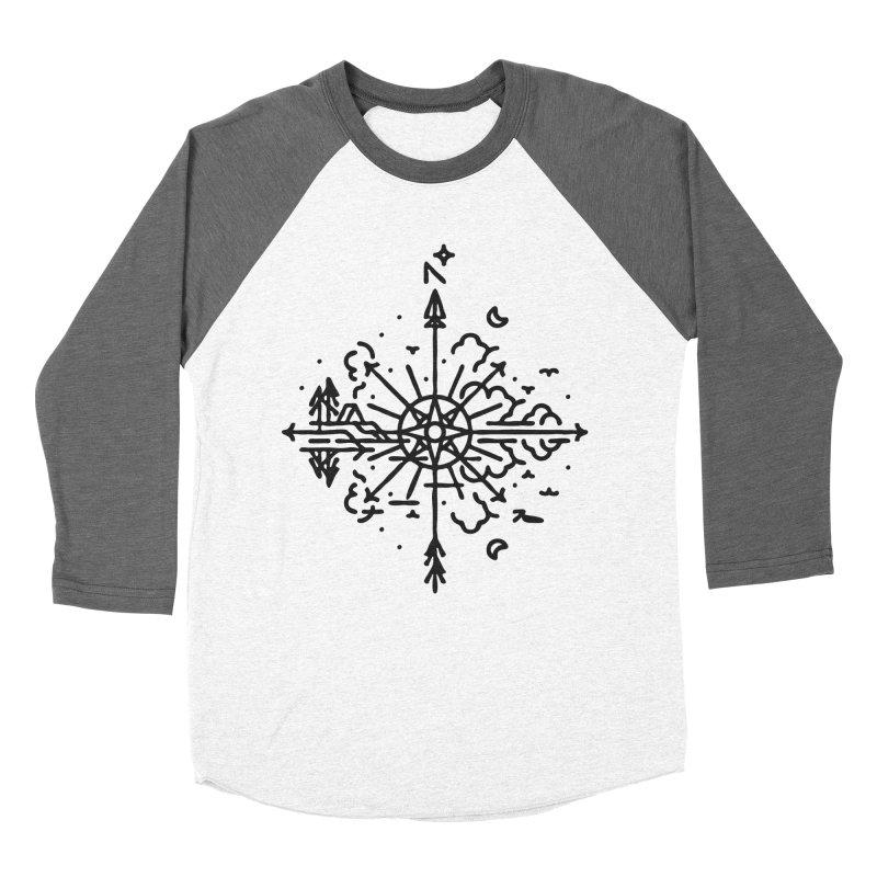 Outdoors Men's Baseball Triblend Longsleeve T-Shirt by Joshua Gille's Artist Shop